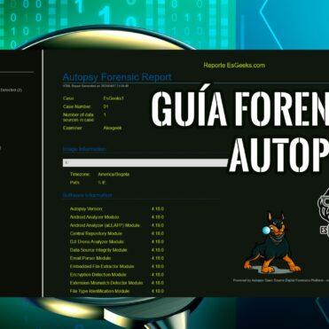 Autopsy Guía Completa Herramienta Forense Windows