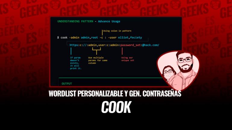 Cook Wordlist Personalizable y Generador de Contraseñas