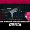 GitRecon OSINT para Obtener Información Perfil de Github y Gitlab