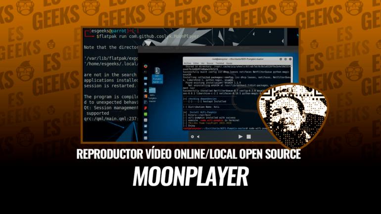 MoonPlayer Reproductor de Vídeo Online y Local Open Source