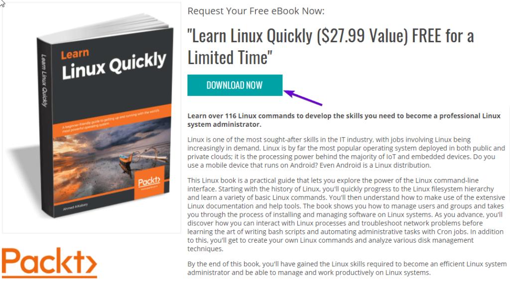 Descargar gratis Learn Linux Quickly en PDF