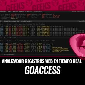 GoAccess Analizador de Registros Web en Tiempo Real