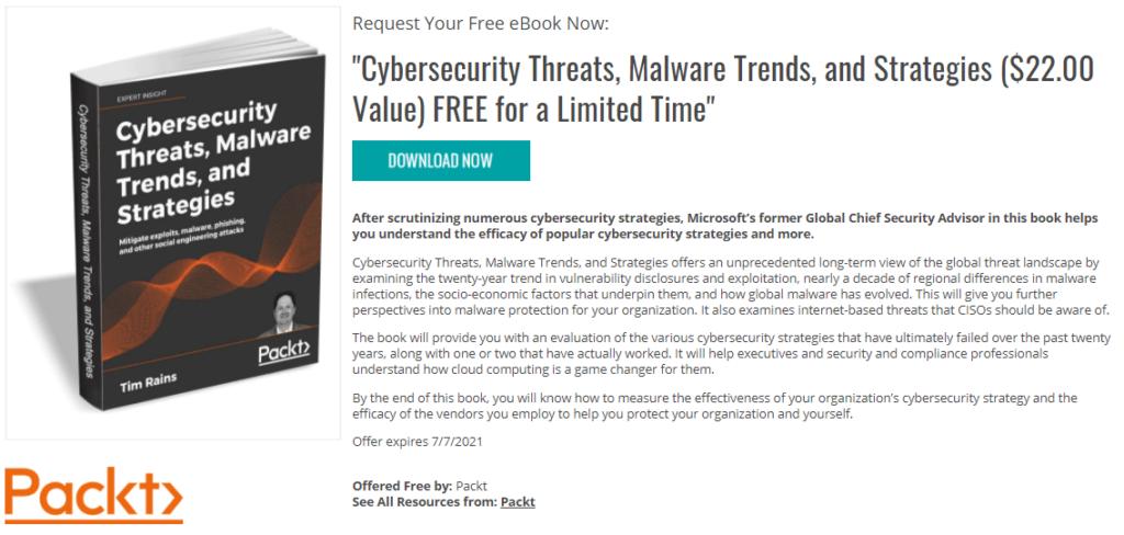 Descargar Cybersecurity Threats Malware Trends and Strategies PDF
