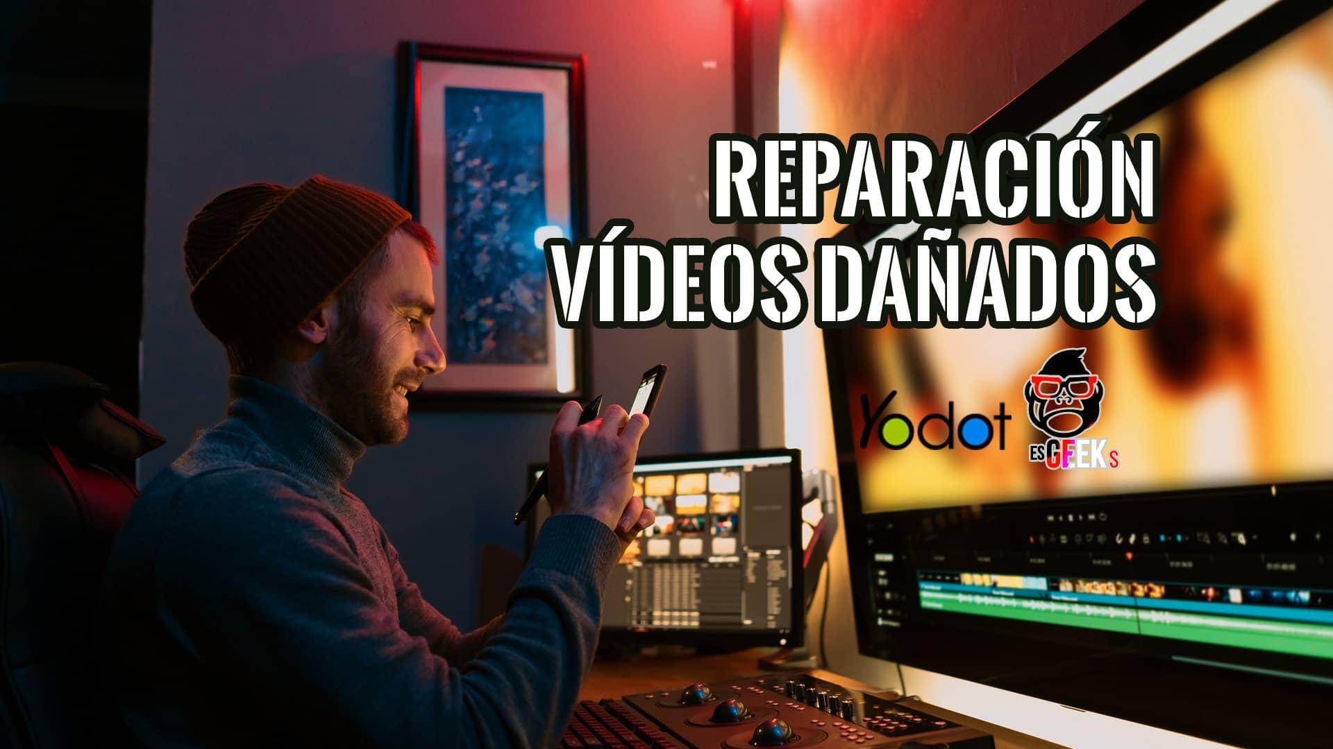 Mejores Software para Reparar Vídeos Dañados