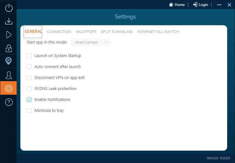 Configuración de IvacyVPN