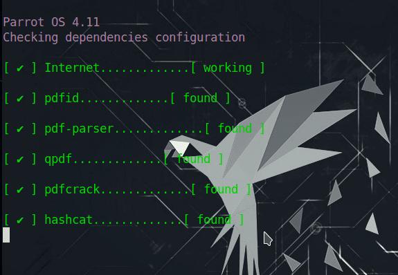 Instalación de las dependencias de pdfcrack