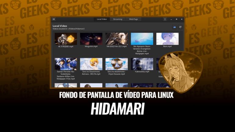 Hidamari Fondo de Pantalla de Vídeo para Linux